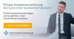 meine KV l Wer kann in den Standardtarif der PKV wechseln ?